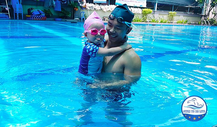 Địa điểm học bơi tại Tân Phú