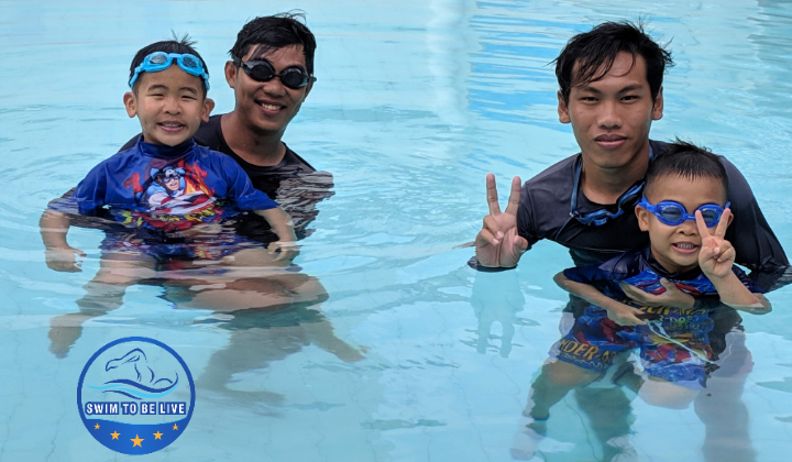 Dạy bơi cho trẻ em dưới 5 tuổi tại Hồ Chí Minh
