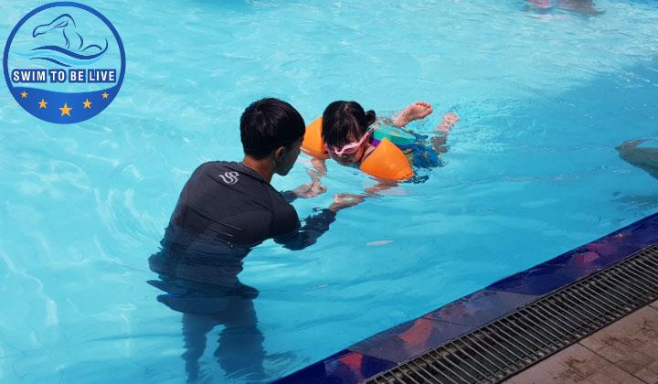 dạy bơi tại nhà