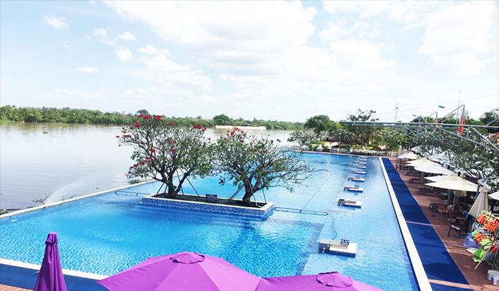 hồ bơi the BCR