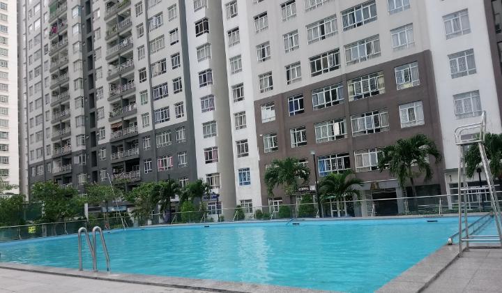 hồ bơi chung cư giai việt