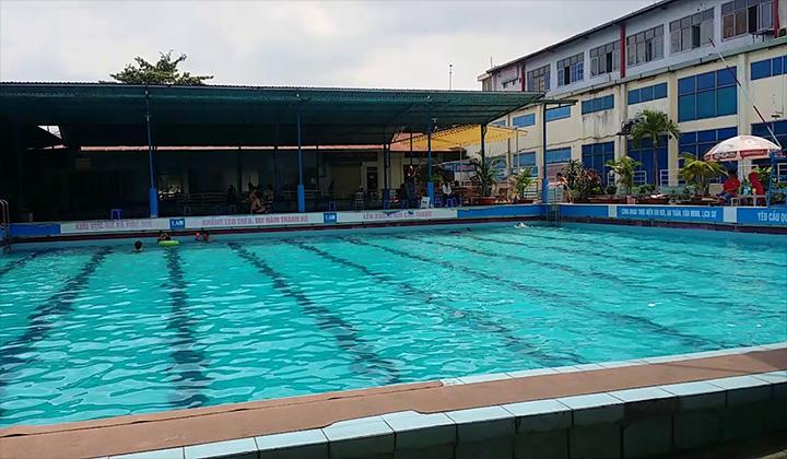 Hồ bơi trung tâm văn hoá quận 12