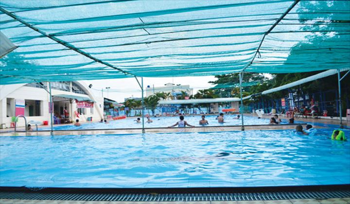 Hồ bơi trường Võ Trường Toản