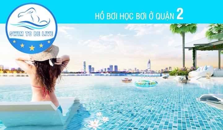 hồ bơi học bơi ở quận 2 Hồ Chí Minh