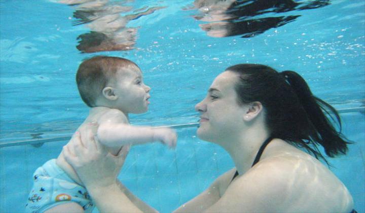 nín thở khi bơi