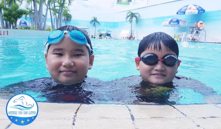 dạy bơi cho người lớn ở Gò Vấp