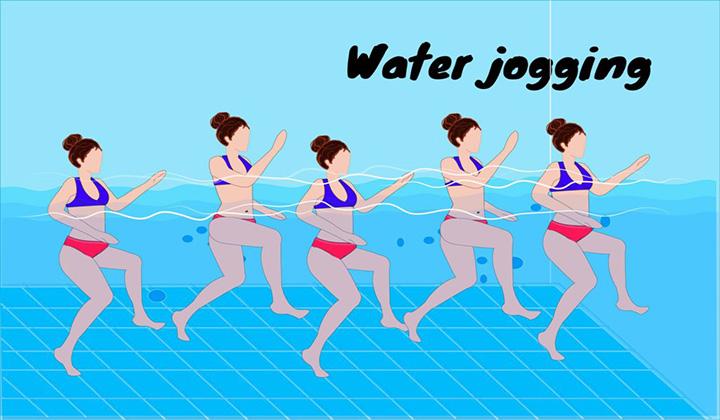 Bài tập chạy bộ nước