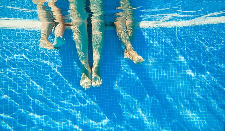 Chân của vận động viên
