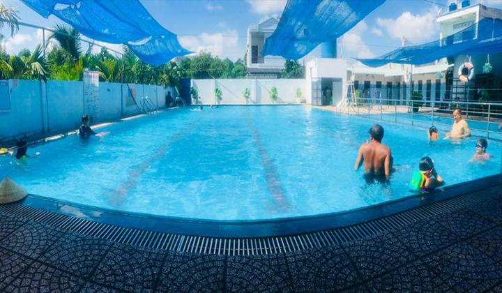 Học bơi ở Bình Dương