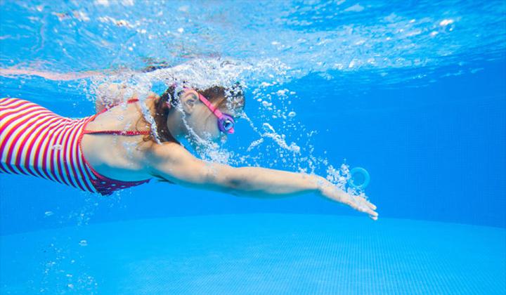 Tai của người bơi