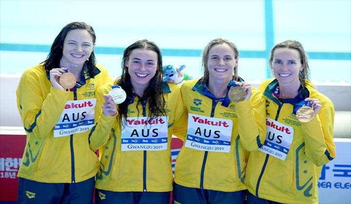 bơi lội Úc 2021